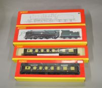 OO Gauge. 2 boxed Hornby Locomotives, R2461 BR 4-6-0 County Class 'County of Devon' and R2170 BR 4-