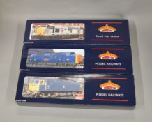 OO Gauge. 3 boxed Bachmann Locomotives, 31-801DS Class 47  'D1746', 32-530 Class 55 Deltic BR Two-
