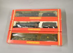 OO Gauge. 3 boxed Hornby Locomotives, R143 BR 2-8-0 Class 2800, R303 BR 4-6-2 King Class 'King