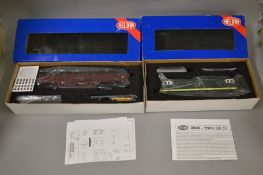 OO Gauge. 2 boxed Heljan Diesel Locomotives, 3501 Class 35 D7039 and 5206 D1039 King, both appear VG