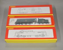 OO Gauge. 3 boxed Hornby Locomotives, R2570 BR Bo-Bo Diesel Hydraulic Class 35 'D7092' Weathered,