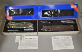OO Gauge. 2 boxed Heljan Diesel Locomotives, 5200 D1007 Talisman and 3504 D7097 BR green, both