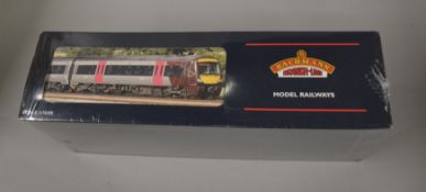 OO Gauge. A boxed Bachmann 32-465 Class 170 3 car Unit Cross Country, still shrink wrapped, E