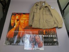Die Hard 3 with a Vengeance quad film poster (30 x 40 inch) and US lobby card set (11 x 14 inch),