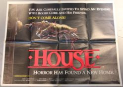 Large collection of 70 film posters including British Quads titles include House, Home Alone,