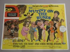 "A collection of original British Quad film posters, all measuring 30""x40"" from the comedy genre plus"