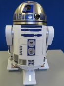 STAR WARS R2 D2 complete DeAgostini model together with extras including C3PO (boxed). R2 D2 and