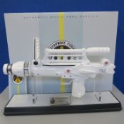 Moonraker laser rifle prop replica made by Factory Entertainment 1:1 scale limited edition no 427 of