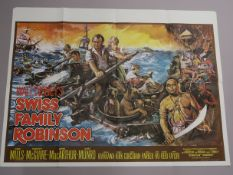 "A collection of original British Quad film posters, all measuring 30""x40"" Disney and family genre,"