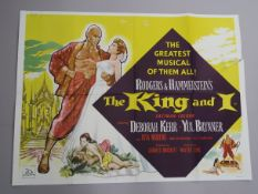 "A collection of original British Quad film posters, all measuring 30""x40"", musical genre, titles"