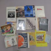 Cinema press packs, inc. stills, campaign books and Focus On Film booklets, plus release charts.