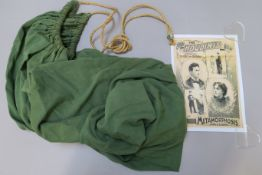 Harry Houdini original sack (previously sold at Christies and Bonhams, with Christies auction tag)