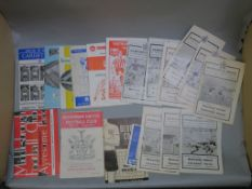 Newcastle United football programmes home and away from 1963 - 1964 season, and the 1964 - 1965