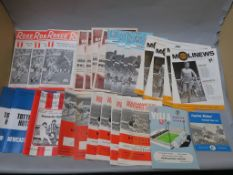 Newcastle United programmes inc Sunderland away 1970 x3, Arsenal, Newcastle 68, 69 x2, Coventry,