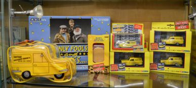 4 Only Fools And Horses diecast models by Corgi and Lledo, also included in this lot is a Only Fools