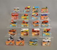 20 Matchbox 1-75 series Superfast models in card box packaging. (20)  [NO  RESERVE]