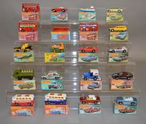 20 Matchbox 1-75 series models from the Superfast range in card box packaging. (20) [NO  RESERVE]