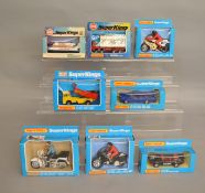 8 Matchbox models from the 'SuperKings' range, all in various styles of window box packaging,