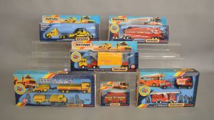 6 Matchbox models from the 'SuperKings' range, all in window box packaging, including K-135 Mercedes