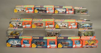 6 Matchbox models from the 'Specials' and 'Turbo Specials' ranges, all in window box packaging,
