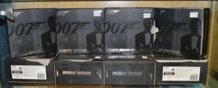 8 James Bond 007 diecast sets by Corgi, all are Roger Moore Limited Edition era set (8)  [NO