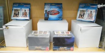 A good collection of James Bond 007 playing cards with at least 4 different designs.  [NO  RESERVE]
