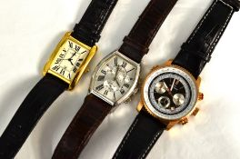 Three Rotary quartz wristwatches to include an Aquaspeed (as new), all on original straps & working