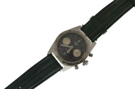 ROTARY - A vintage gents mechanical Aquaplunge chronograph wristwatch circa 1970's, the original