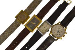 Four working mechanical wristwatches to include Sicura, Rotary, Roamer & Precista