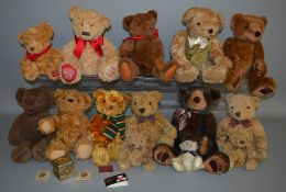 14 unboxed Bears including 'Sainsbury's Special Edition Bear 140 years 1869 to 2009',  '