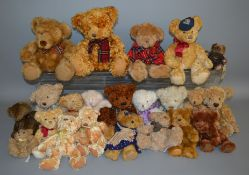 22 unboxed Bears including a number by Russ Berrie, 'Nicholas', 'Nobbie' etc.. (22)