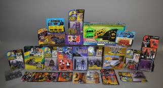 21 Batman items, which includes Trace and Color, figures, Bating Wing Blaster etc (21).