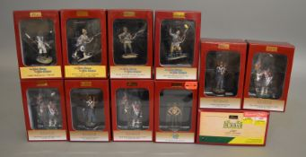 10 boxed Britians soldier figures including items from the 'War Along the Nile', 'Jack Tars and