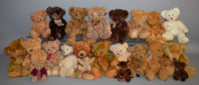 22 unboxed Bears including a number by Russ Berrie, 'Sienna', 'Sutton' etc.. (22)