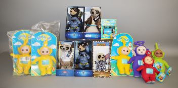 7 teletubbies toys and 5 soft meerkats (12)