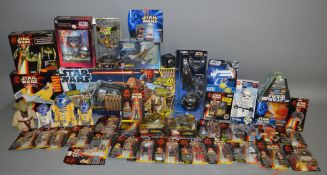 A good quantity of Star Wars items including; figures, Play sets etc, this lot is contained in 3