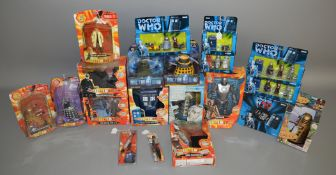 20 Doctor Who items in original packaging, which includes; Daleks, Cyberman etc (20).