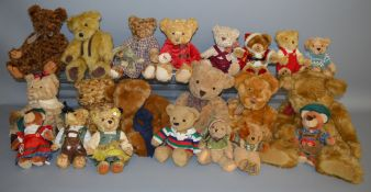 21 unboxed Bears including 'Tibbles' 'Oswald' and 'Charles' bears by Russ Berrie. (21)