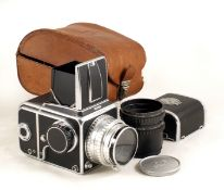 Early Version Hasselblad 1000F, #CL14914. (condition 5F) with CZ Opton Tessar f2.8 80mm. With