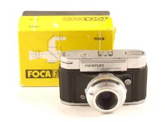 OPL Focaflex Automatic 35mm Camera. (condition 5F). With fixed Oplar-Color f2.8 5cm lens. In