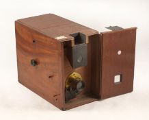 Early Fallowfield Facile 'Detective' Style Magazine Camera. (condition 4/5F). Complete with eight