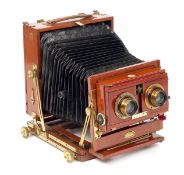 Houghton Stereo Victo Triple Extension Field Camera. Unable to collapse due to slightly bent