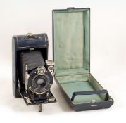 Blue Kodak VP Series III Vanity Set. (bellows average, otherwise condition 5F). (From the Bob