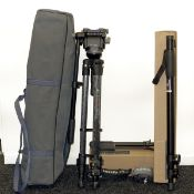 Selection of Manfrotto Tripods etc. To include a CarbonOne 442 tripod with 128RC fluid video head (