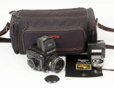 Mamiya 645 Medium Format Camera. (condition 5F) With Sekor C 80mm f2.8 lens. With a spare roll