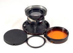 "Kodak Aero-Ektar 7"" 178mm f2.5 5x5 Lens. #EE14372. (very slight cleaning marks, otherwise"