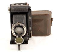 Voigtlander Rangefinder Bessa 120 Roll Film Camera. With Heliar f3.5 10.5cm (condition 5F) with