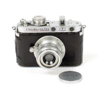 Ensign Multex Model O #21762. (condition 5/6F) Fitted with Ensign Multar 50mm f3.5 lens. (From the