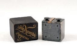 RARE 'Roll Holder' Film Magazine for Kemper Kombi Cameras. (condition 5F) In makers box. (From the