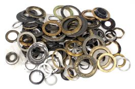A Useful Collection of Brass & Other Lens Flanges, Mostly Vintage. (From the Bob White